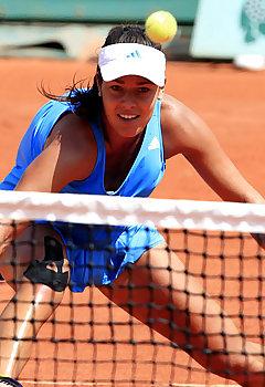 Tennis Downblouse Pics