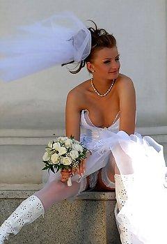 Bride Downblouse Pics