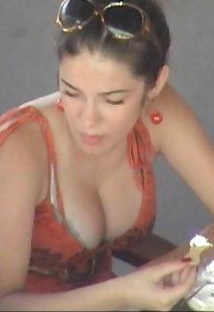 Big Tits Downblouse Pics